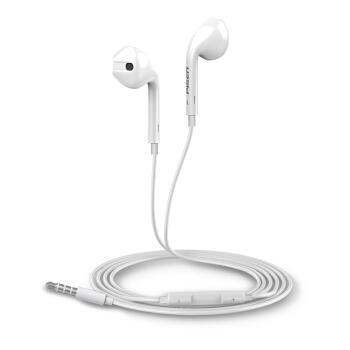 品胜(PISEN) 手机耳机有线半入耳式 适用于苹果华为oppo小米安卓平板降噪k歌游戏通用耳麦 立体声线控耳机