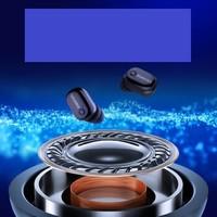 ucomx 优康仕 蓝牙耳机迷你超小隐形真无线运动入耳式    U6E (黑色、通用、入耳式)