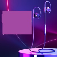 BASEUS 倍思 无线运动蓝牙线控耳机    SIMU S17 (黑色、通用、IPX5)