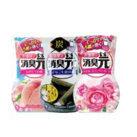 KOBAYASHI 小林制药 空气清新剂 400ml*3瓶 (蜜桃香+木炭香+玫瑰香)