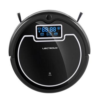 LIECTROUX 莱尔克斯 德国家用全自动擦地拖地机器人三合一体扫地机吸尘器S600 黑色