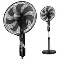 Wanbao 万宝 2017010702950617  电风扇  7叶   黑色机械款  FS-350A-73