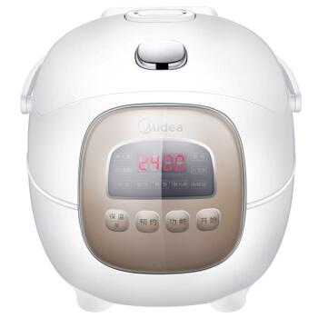 Midea 美的 MB-FB16Easy107 电饭煲电饭锅1.6L黑晶不粘内胆电饭煲九大智能