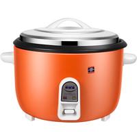 Peskoe 半球 大电饭锅食堂商用大电饭煲电饭锅老式 橙色8L-25L 橙色