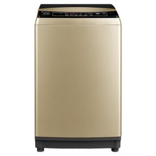 LittleSwan 小天鹅 水魔方防缠绕系列 TB90V80WDCLG 变频 波轮洗衣机 9kg 金色
