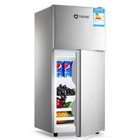 TOFIND 多方达 BCD-118 118L升迷你两门小冰箱   银色