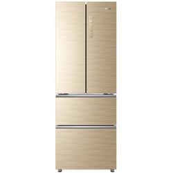 海尔(Haier) 331升 法式四门冰箱风冷无霜双变频1级能效家用电冰箱BCD-331WDGQ金色