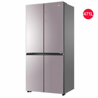 Haier 海尔 BCD-471WDCD 十字对开门冰箱 金色