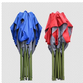威特豪斯 加粗户外广告帐篷印字四脚帐篷伞摆摊印刷雨棚遮阳棚防晒防雨折叠伸缩车棚大伞雨蓬夜市帐篷伞摆地摊市场伞具 2x2米军工级别金刚王加强版 红色  H01