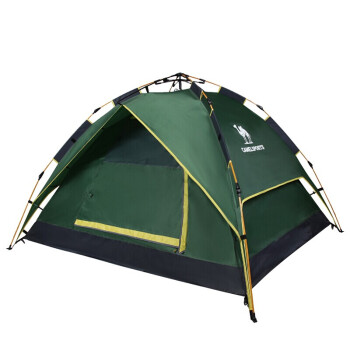 CAMEL 骆驼 户外帐篷野营防雨遮阳四季双层帐篷军绿 均码 A9S3H8111