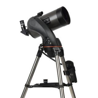 CELESTRON 星特朗 NexStar127SLT自动寻星自动跟星马卡 中文手控器观景观天 大口径深空专业天文望远镜  22097 (天文望远镜、127mm、变倍)