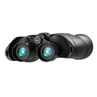 BOSMA 博冠 驴友10X50 非球面大目镜超广角高清高倍 户外微光夜视非红外便携双筒望远镜黑色   323002