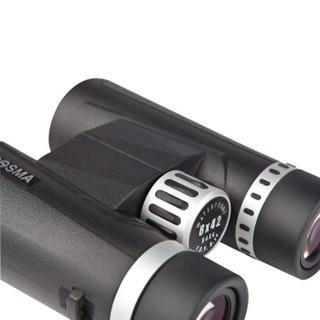 BOSMA 博冠 双筒望远镜高清高倍演唱会便携乐观Ⅱ10X42黑色  362002
