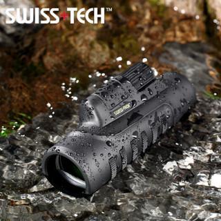 Swiss+Tech 瑞士科技 高清版  观鸟镜 高倍高清微光夜视演唱会单筒望远镜 10X50超广角SMC镀膜  842