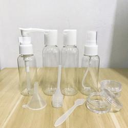 煌颐 旅行化妆瓶细雾小喷瓶子9件套