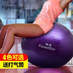 润森瑜伽球加厚防爆正品初学者健身瑜珈儿童平衡女孕妇分娩球