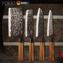 TOKIO 德国手工锻造刀不锈钢水果刀菜刀 4件套