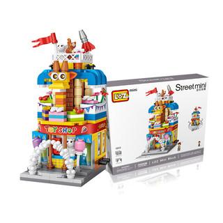 LOZ 俐智 迷你街景系列 玩具店(多种类型)