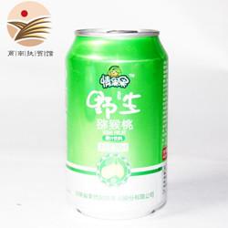 情果果(QINGGUOGUO)果然风情  野生猕猴桃果汁休闲饮料罐装饮品 310ml*8瓶 瓶