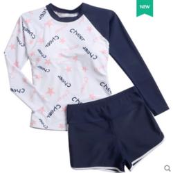 YUKE 羽克 9063-1 女式分体泳衣