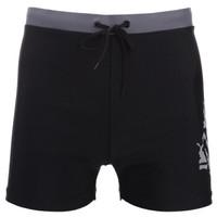 YINGFA 英发 泳裤  男士温泉度假抗氯时尚舒适泳装 平角游泳裤黑色 XL        Y3583 (XL、聚酯纤维、分体)