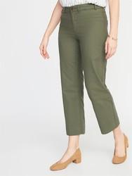 OLD NAVY 381910 棉质纯色直筒型休闲九分裤