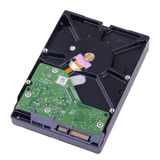 Western Digital 西部数据 紫盘 WD40EJRX 机械硬盘 (4T、SATA 6Gb/s、64MB、5400r/min、监控安防、3.5英寸)