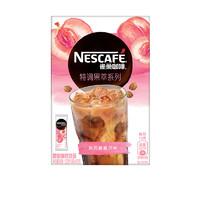 Nestlé 雀巢 特调果萃 水果速溶咖啡饮品 (120g、沁风桃桃、盒装、8)