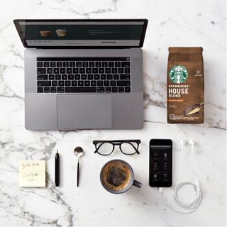 STARBUCKS 星巴克 咖啡粉 特选综合进口咖啡豆研磨 (200g、袋装)