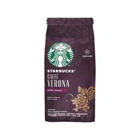 STARBUCKS 星巴克 咖啡粉 佛罗娜(Caffe Verona) 进口咖啡豆研磨 (200g、袋装)