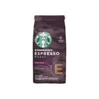 星巴克Starbucks咖啡原装进口意式浓缩烘焙咖啡豆深度200g *3件