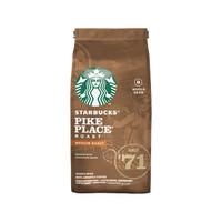 Starbucks 星巴克  Pike Place 烘焙咖啡豆中度烘焙 200g *3件