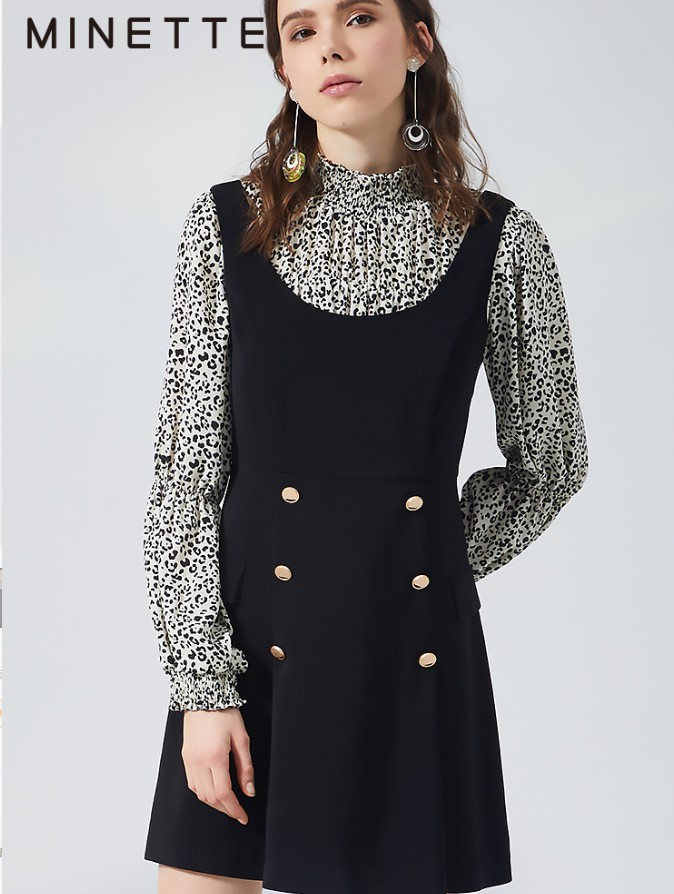 MINETTE 30119148006 女士吊带连衣裙