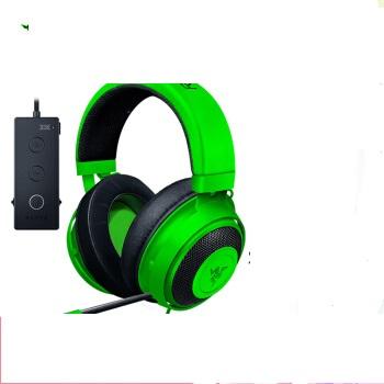 RAZER 雷蛇 头戴式游戏耳机 竞技版 绿色