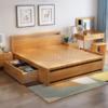 MUFAN-HOME 木帆家居 北欧双人床 1.5/1.8米标准单床