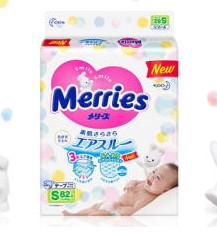 Merries 妙而舒 82874 通用纸尿裤  S82片