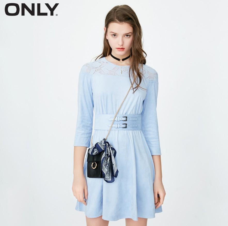 ONLY 118107646 女士收腰连衣裙
