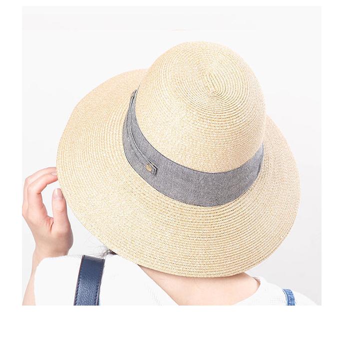 Irodori 女士可折叠UV丝带遮阳帽