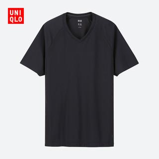 限XS : UNIQLO 优衣库 414347 DRY-EX 男士T恤