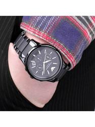 阿玛尼ARMANI手表 欧美品牌 经典商务石英表休闲陶瓷带男士石英表 AR1452