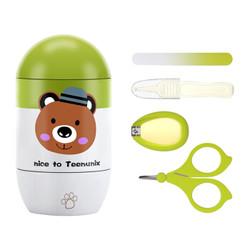 天美优客婴儿指甲剪套装柠檬绿 *11件