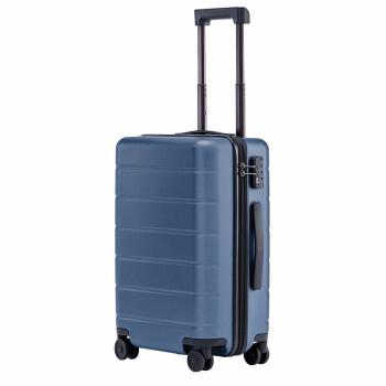 小米(MI)拉杆箱20英寸1A  男女旅行箱万向轮登机旅行皮箱轻巧便利出行90分行李箱 极光蓝  20英寸