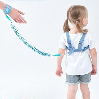 博比龙 宝宝防走失肩 天蓝色 1.5米