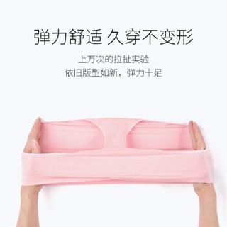 EMXEE 嫚熙 孕妇内裤  中低腰 托腹裆部纯棉  air无感系列 肤色【M、L码】 S