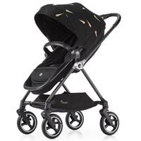 gb 好孩子 金羽系列 轻奢款碳纤维婴儿推车 赠婴儿背带