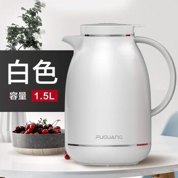 Fuguang 富光 WFS1018-1500 欧式家用保温壶  白色 1500ml