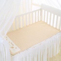 良良liangliang凉席 苎麻婴儿凉席 宝宝婴儿凉席(加大)凉而不冰 125*74cmLLB01 米咖  LLB01-2C +凑单品