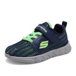 斯凯奇童鞋 新款防滑透气网布时尚休闲鞋男童运动鞋
