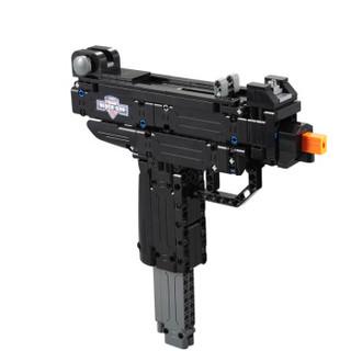 双鹰 咔搭积木拼装男孩玩具枪 玩具359颗粒  C8100系列积木