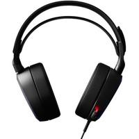steelseries 赛睿 游戏耳机   DTS 7.1数字音效 (黑色、有线)
